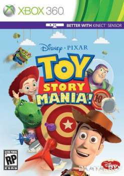 Toy Story Mania! (2012) (RUSSOUND) (XBOX360)