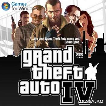 GTA 4 / Grand Theft Auto 4 (v.1.0.7.0) (2008) (RUS/ENG/Multi6) (PC) RePack