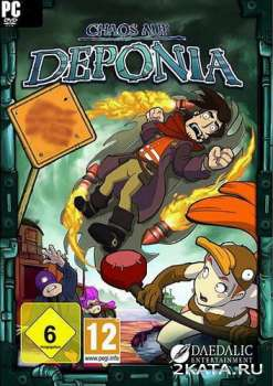 Chaos on Deponia (2012) (ENG) (PC) SKIDROW