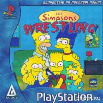 Simpsons Wrestling (PS1/RUS)