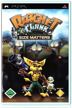 Ratchet & Clank Size Matters (2007) (RUS) (PSP)