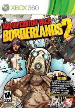 Borderlands 2: Add-On Content Pack (2013) (ENG) (XBOX360)