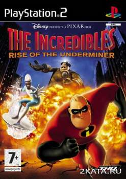 The incredibles: Rise of the Underminer (2005) (RUS) (PS2)