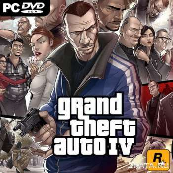 Grand Theft Auto IV: Overclockers Edition (2008-2013) (RUS/ENG/MULTI6) RePack