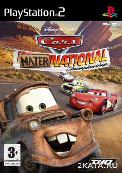 Cars: Mater-National (2007) (RUS) (PS2)