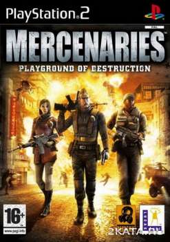 Mercenaries Playground of Destruction (2005) (RUS) (PS2)