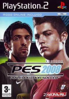 Pro Evolution Soccer 2008 (2007) (RUS) (PS2)