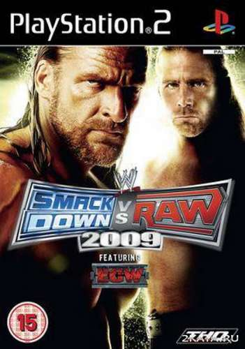 WWE Smackdown vs RAW 2009 (2008) (RUS) (PS2)