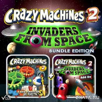 Crazy Machines 2: Invaders from Space (2013) (ENG) (PC) (TiNYiSO)