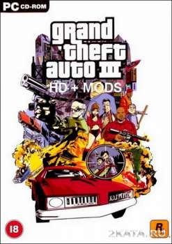 Grand Theft Auto 3 HD + MODS (2002) (ENG) (PC)