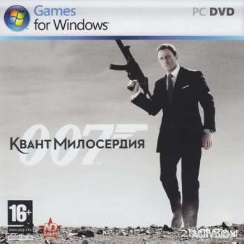 007: Квант милосердия / Quantum of Solace: The Game (2008) (RUS) (PC) RePack