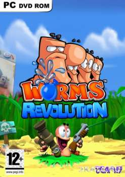 Worms Revolution - Gold Edition (2012) (RUS/ENG//Multi8) (PC) (PROPHET) *CrackFix*