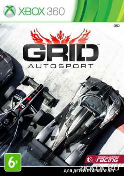 GRID Autosport (2014) (RUSSOUND/MULTI9) (XBOX360)
