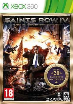 Saints Row IV - Game of the Century Edition (2014) (ENG) (XBOX360)