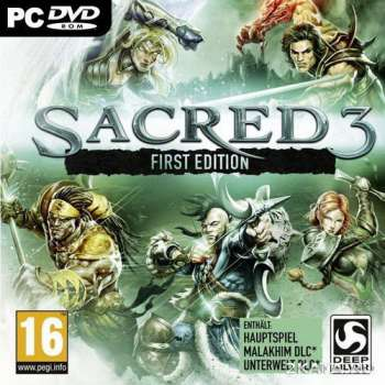 Sacred 3 + DLC (2014) (RUS/ENG/Multi8) (PC) Steam-Rip