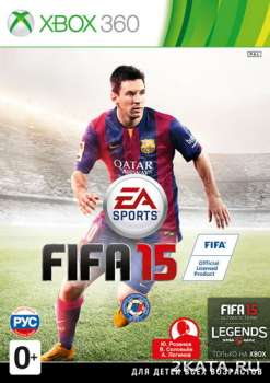 FIFA 15 (2014) (PAL) (RUSSOUND) (XBOX360)