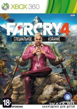 Far Cry 4 + DLC (2014) (RUSSOUND) (XBOX360)