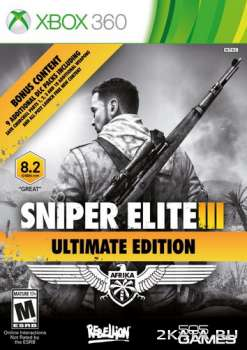 Sniper Elite III: Ultimate Edition (2015) (RUS/MULTi8) (XBOX360)