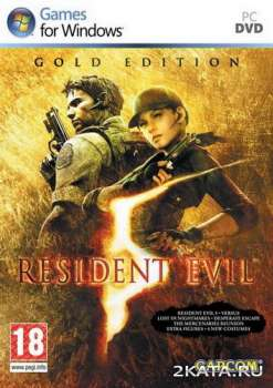 Resident Evil 5 / Biohazard 5 - Gold Edition (2015) (RUS/ENG/MULTi9) (PC)