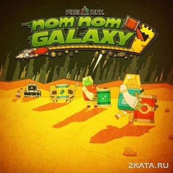 PixelJunk Nom Nom Galaxy (2015) (ENG/MULTI6) (PC)